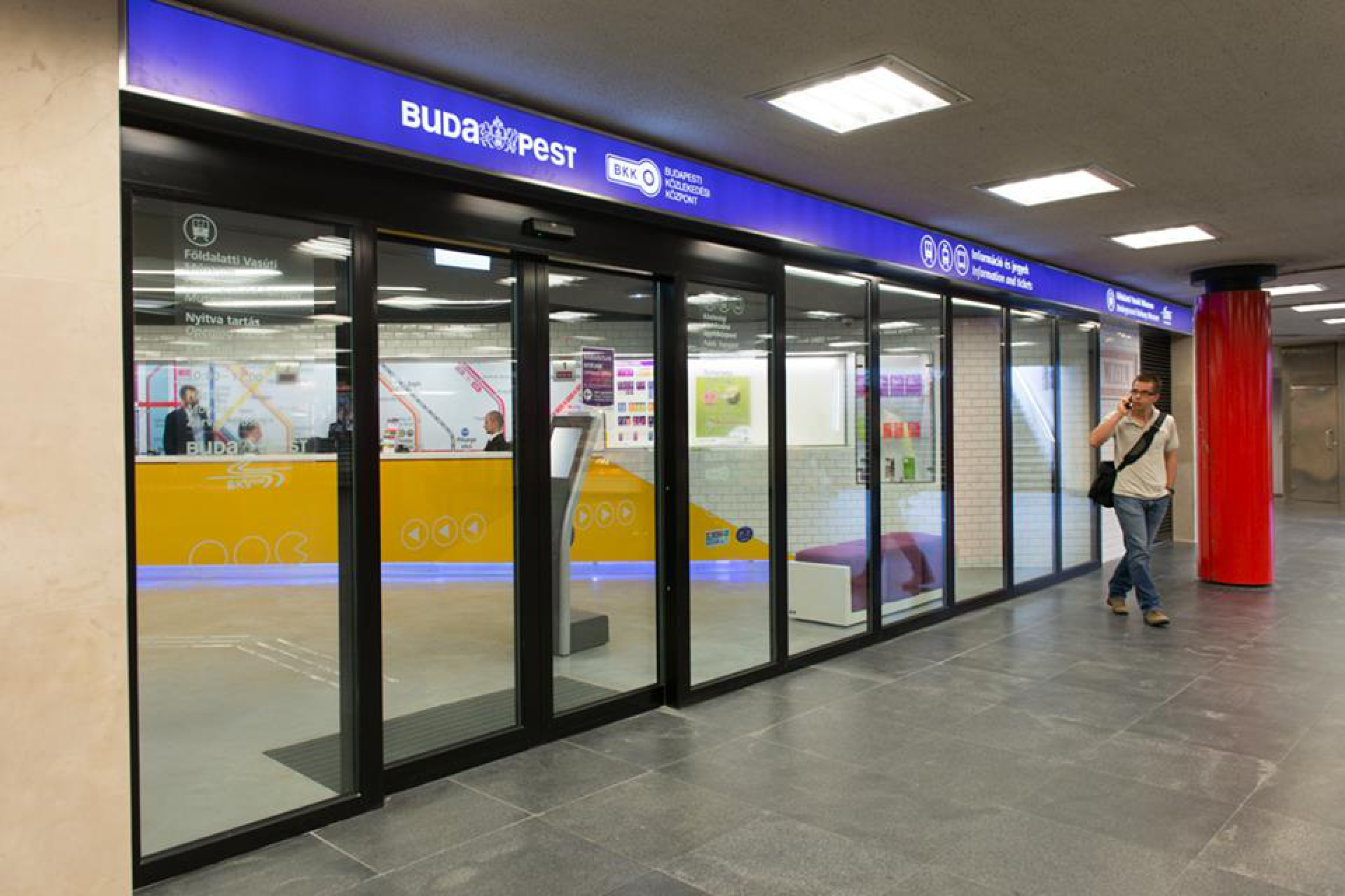 BKK Client center, Deák Ferenc subway station
