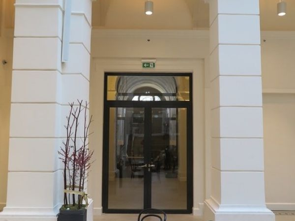 Smoke proof glass doors and portals references